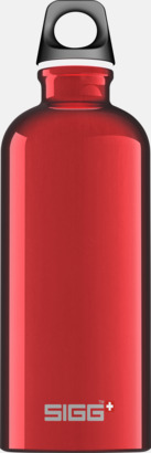 Röd (0,6 liter) Äkta SIGG-flaskor med eget tryck