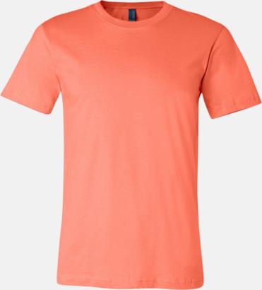 Coral T-shirts för herr och dam - med reklamtryck