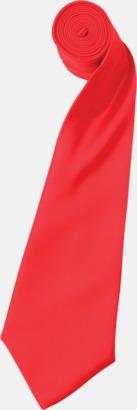 Strawberry Red Slipsar i supermånga färger
