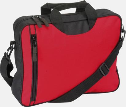 Röd Användbara dokumnetväskor med tryck