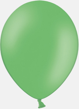 135 Bright green pms 347 Reklamballonger med fototryck