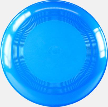 Blå Frisbees med reklamtryck