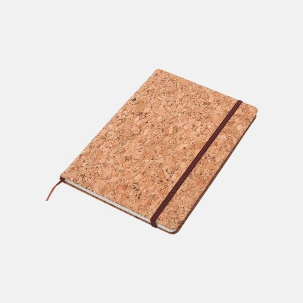 A5 (1) Anteckningsböcker med rutat papper i A5 & A6-format med reklamtryck