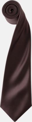 Brun Slipsar i supermånga färger