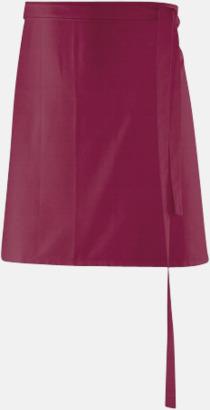 Bordeaux (80 x 45 cm) Förkläden i 5 varianter med reklamtryck