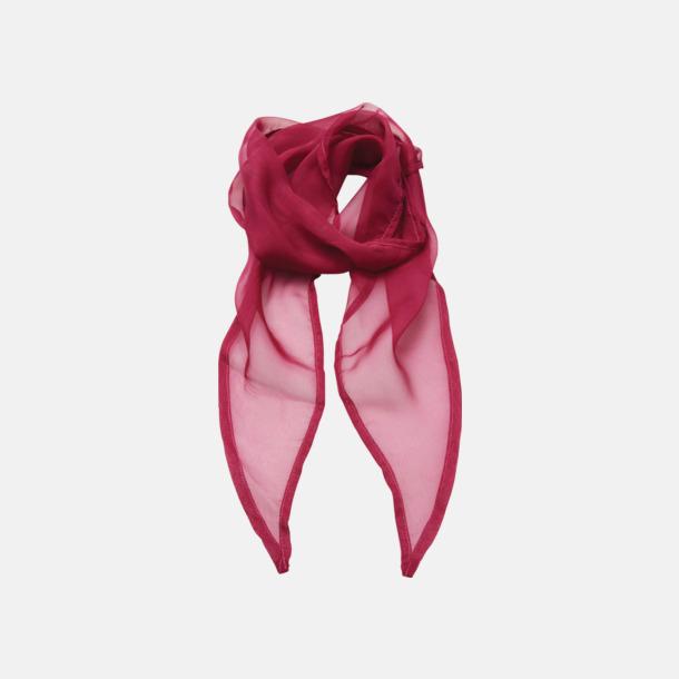 Hot Pink Tunna accessoarscarfs i många färger