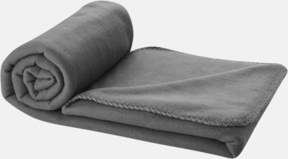 Anthracite Grey Fleecefilt och bag - med tryck