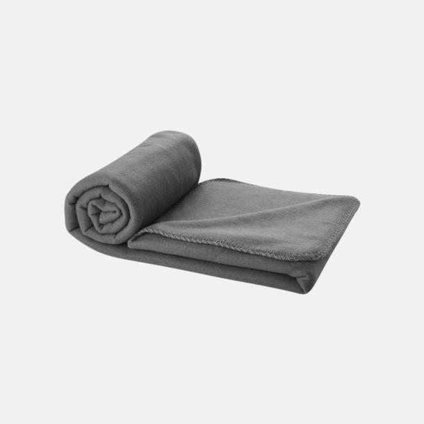 Anthracite Grey Fleecefilt och bag - med reklamtryck