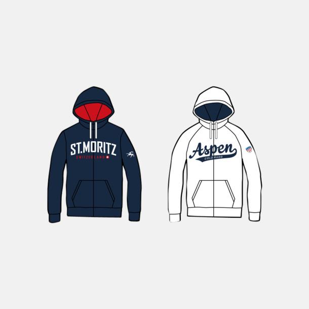 Modell: Zip Hood Skräddarsydda tröjor i egen design