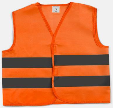 Orange Vår billigaste säkerhetsväst för barn