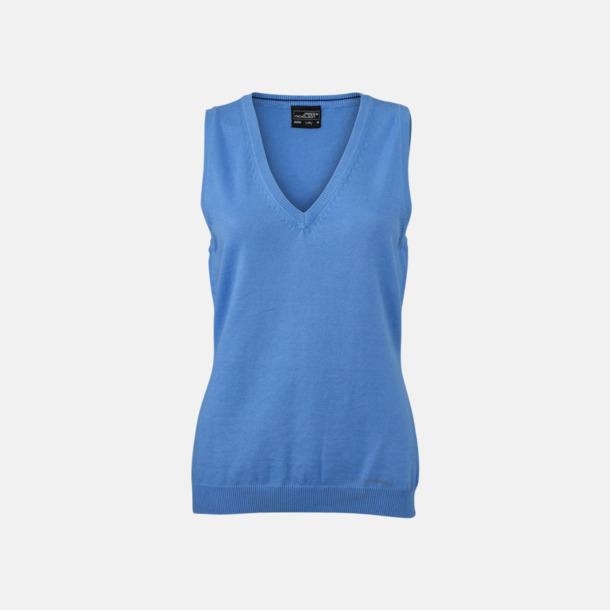 Glacier Blue Pullovers med eget tryck