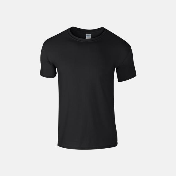 Svart Billiga t-shirts med tryck