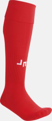 Röd Fotbollsstrumpor för föreningar och företag