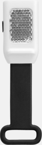 Svart Reflexlampor som är lätta att fästa - med reklamtryck