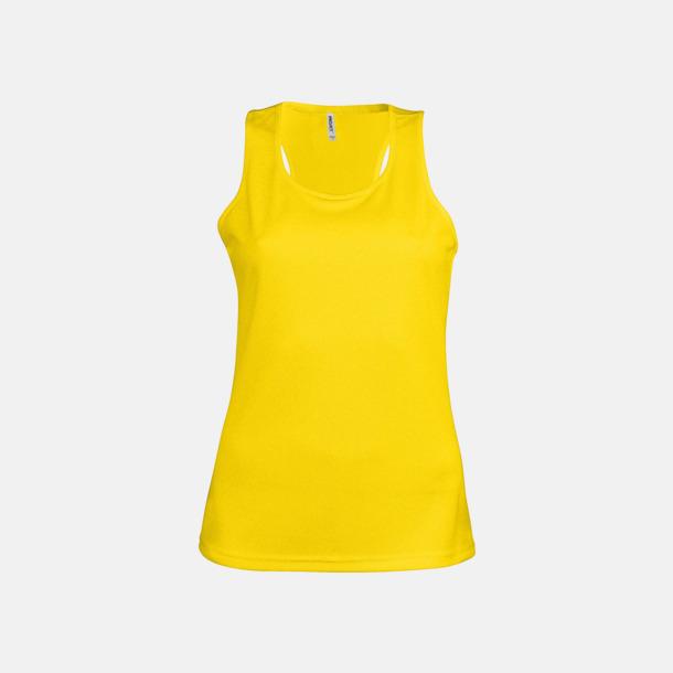 True Yellow Linnen av funktionsmaterial med reklamtryck
