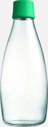 Strong Green Större glasflaskor med reklamtryck