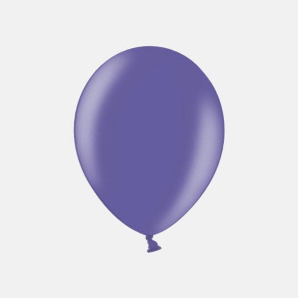086 Violeet Blue Ballonger i unika färger med eget tryck