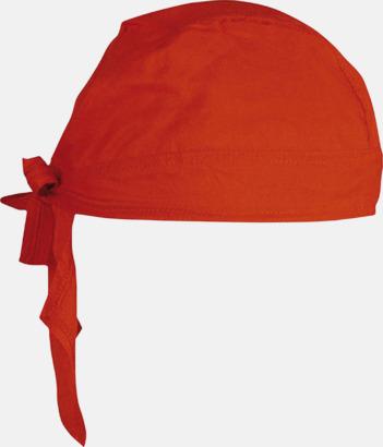 Röd Sjaletter med reklamtryck