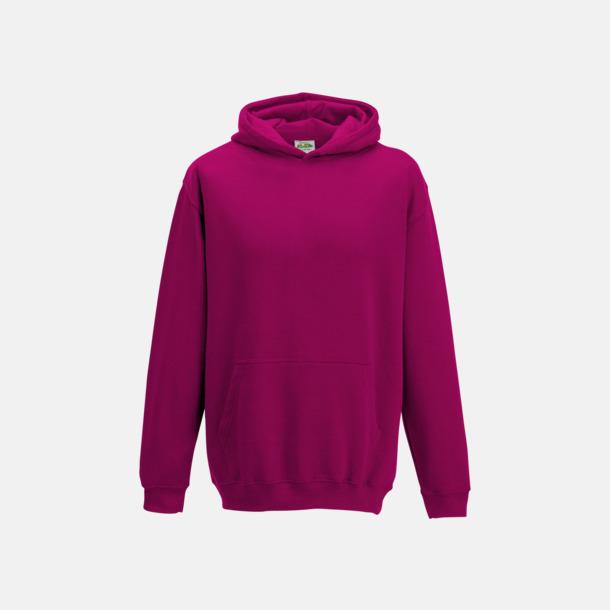 Hot Pink Huvtröjor för barn i många färger - med reklamtryck