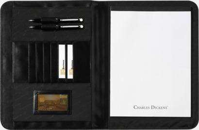 Utan miniräknare Exklusiva konferensmappar från Charles Dickens - med reklamtryck