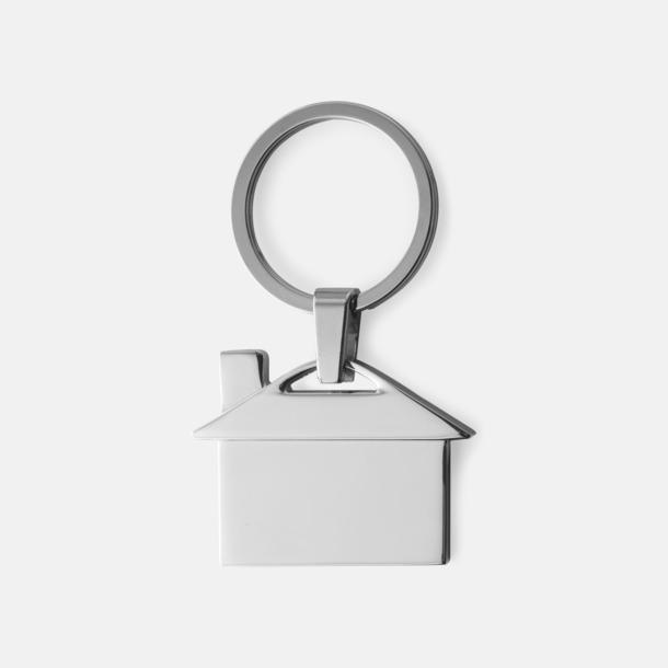 Silver Nyckelringar med reklamgravyr