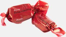 Smörkolor med chokladöverdrag - med reklamtryck