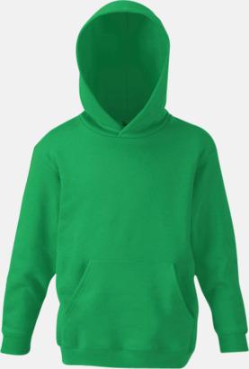 Kelly Green Huvtröjor för barn i många färger med reklamtryck