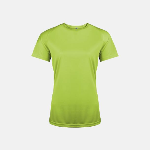 Lime Sport t-shirts i många färger för damer - med reklamtryck