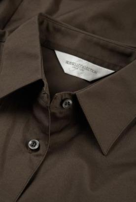 Lättskötta blusar med reklamtryck