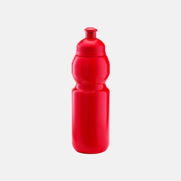 Röd (300 ml) Bulb-vattenflaskor i 4 storlekar med digitaltryck