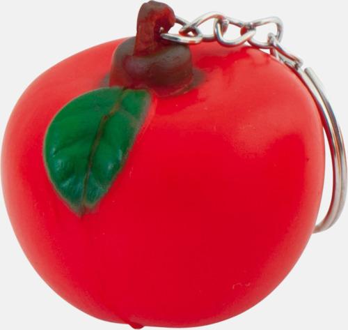 Äpple Stressbollar i form av olika frukter - med reklamtryck