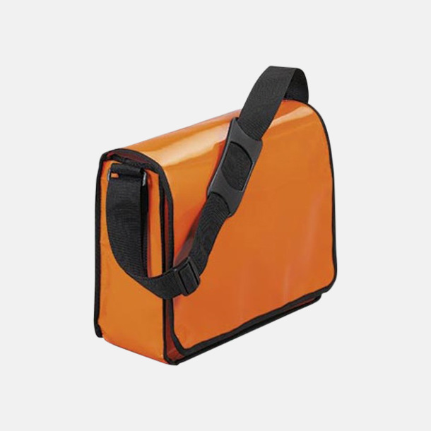 Orange Messenger bagar med reklamtryck