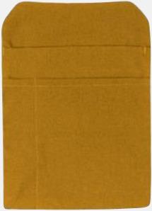 Caramel Förklädesfodral med reklamtryck