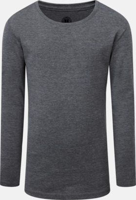 Grey Marl (flicka) Färgstarka långärms t-shirts i herr-, dam och barnmodell