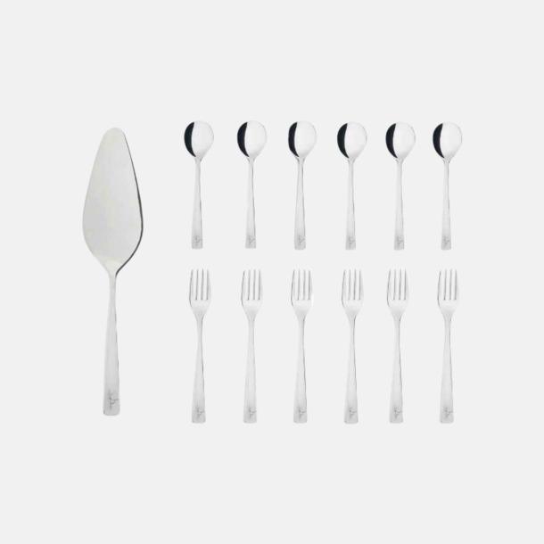 Silver 13-delars dessertbestick-set från
