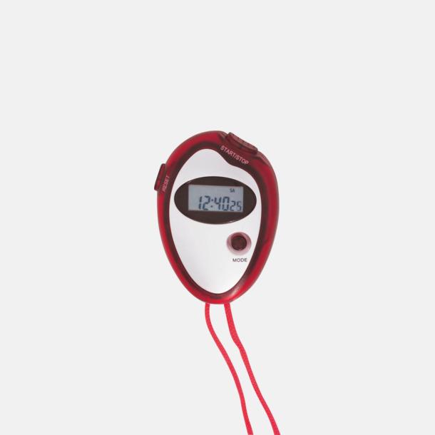 Röd Billiga stoppur med reklamtryck