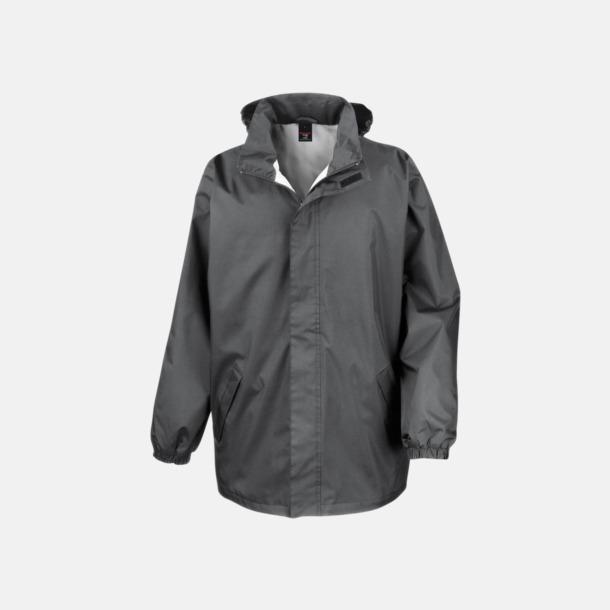 Steel Grey Kvalitetsjackor i unisexmodell med reklamtryck
