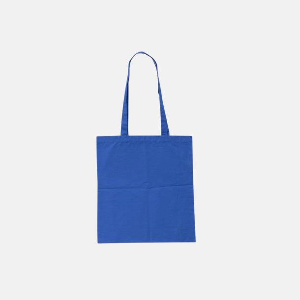 Blue (pms 2935U) Billiga tygkassar med tryck