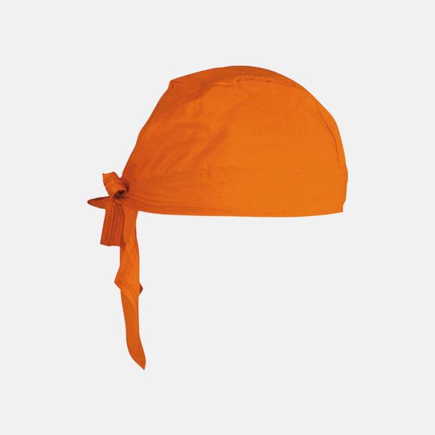 Orange Sjaletter med reklamtryck