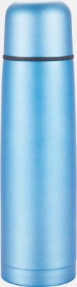 Ljusblå Färgglada termosar med tryck