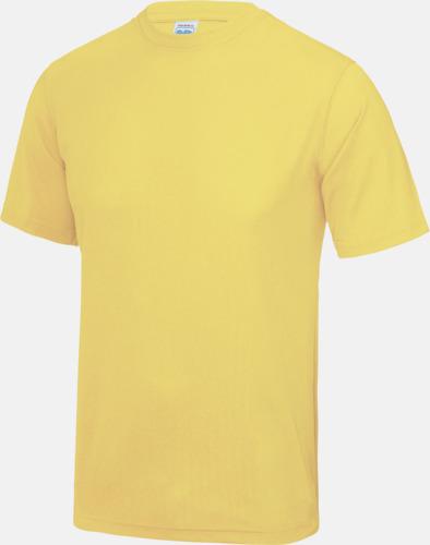 Sherbet Lemon Billig funktionströja med eget tryck