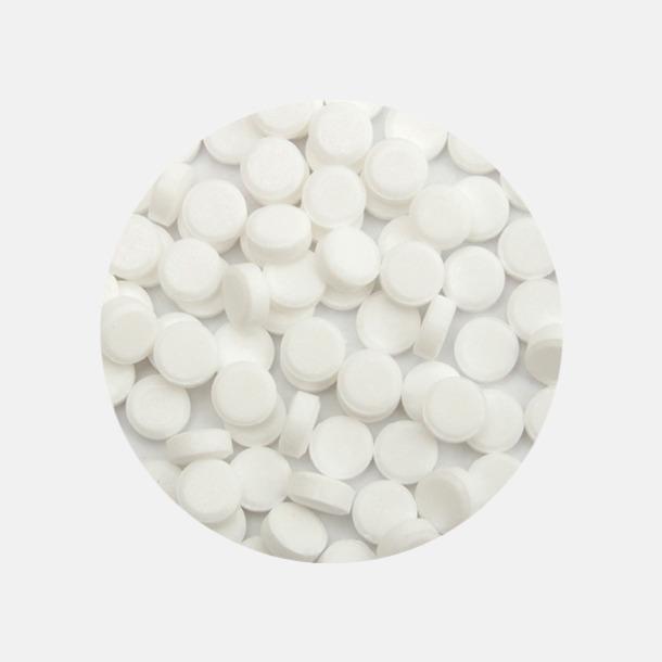 Sockerfria minipastiller (mint) Mintfyllda vriddosor med reklamtryck