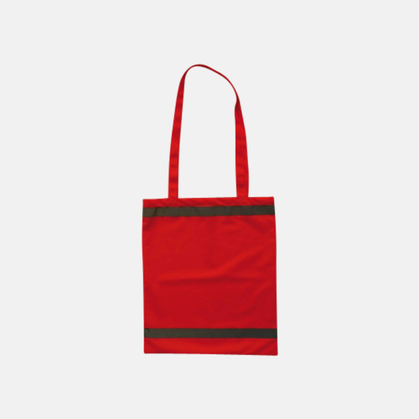 Signalorange Warnsac® shoppingbag med reklamtryck