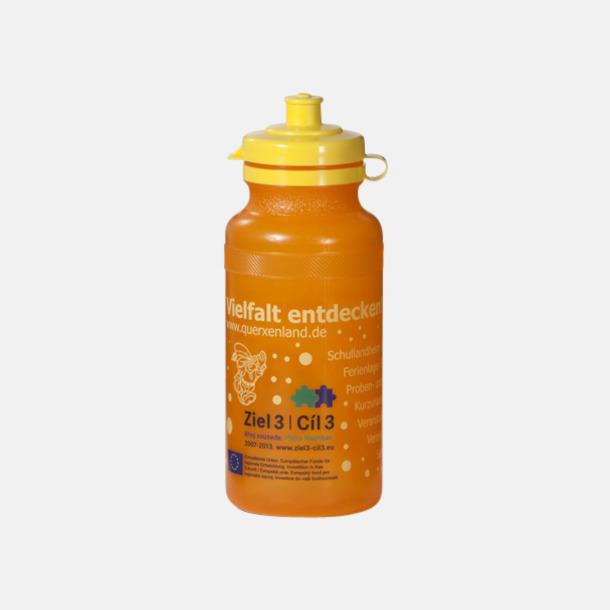 Orange Vattenflaskor i 4 storlekar med reklamtryck