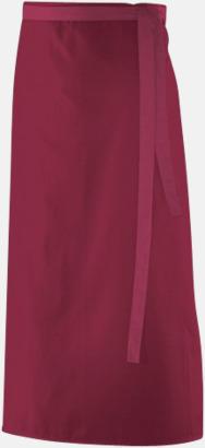 Bordeaux (90 x 60 cm) Förkläden i 5 varianter med reklamtryck