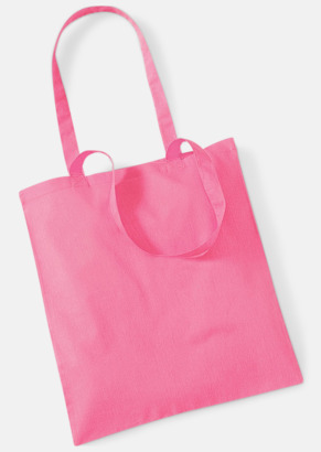 True Pink Tygkasse med tryck