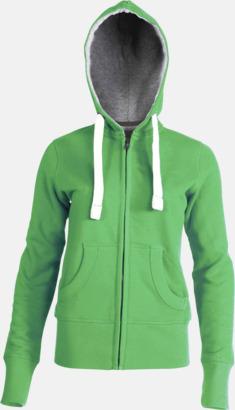 Vintage Green (dam) Kvalitetströjor i herr- & dammodell med reklamtryck