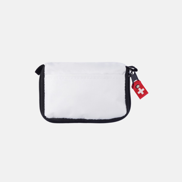 Vit First Aid Pouch med eget reklamtryck