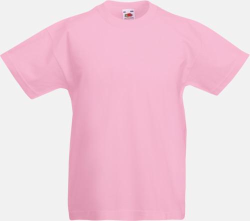 Ljusrosa T-shirt barn - Valueweigth barn t-shirt