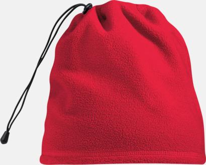 Classic Red Mössa och halsduk i ett - med egen logo